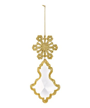 Yellow Dangle Ornament