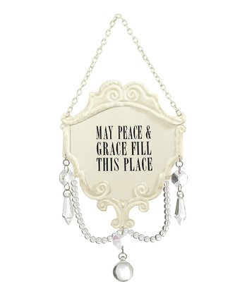 'Peace & Grace' Chandelier Ornament