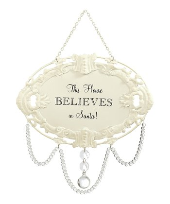'This House Believes' Chandelier Ornament