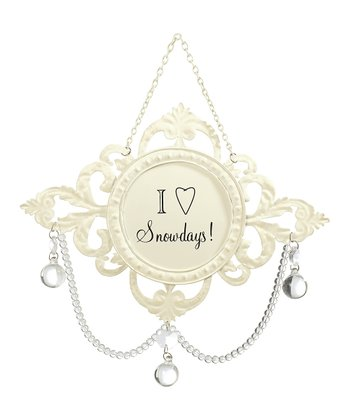 'Snow Days' Chandelier Ornament