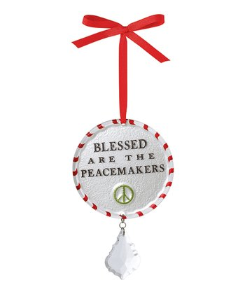 'Peacemakers' Round Ornament