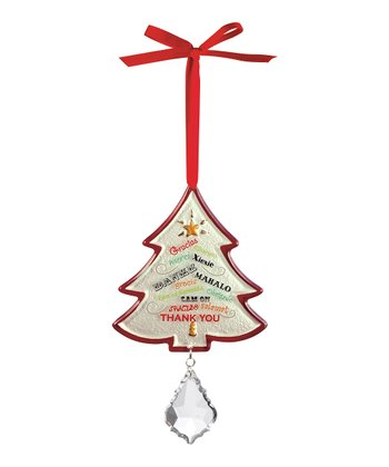'Thank You' Tree Ornament