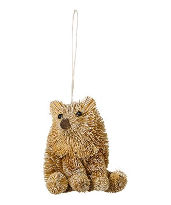 Brushy Porcupine Ornament