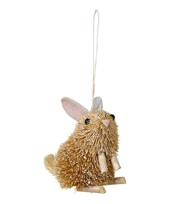 Brushy Rabbit Ornament