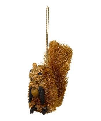 Brushy Squirrel Ornament