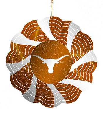 Texas Geo Spinner Ornament