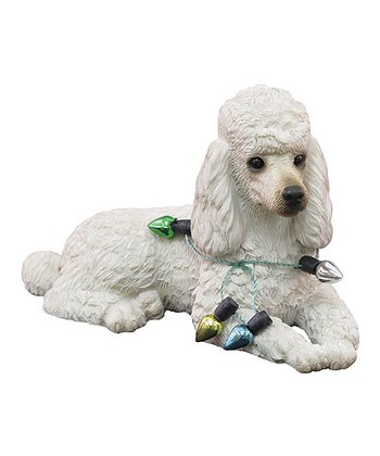 Christmas Light Poodle Ornament