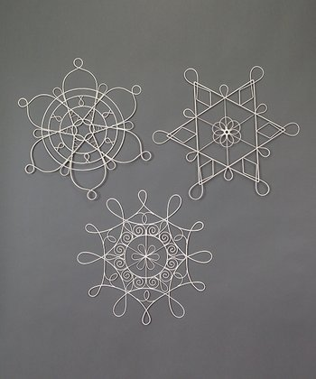 Metal Snowflake Set