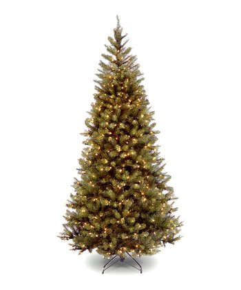 7' Aspen Spruce Lighted Tree