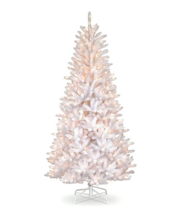 Iridescent Slim 7.5' Dunhill Fir Lighted Tree