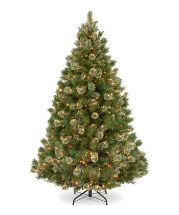 7.5' Wispy Willow Grande Lighted Tree