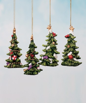 Holiday Tree Ornament Set