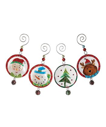 Hanging Marble Ornament Set
