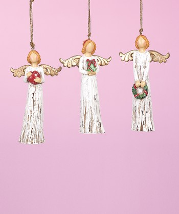Holiday Gifts Angel Ornament Set