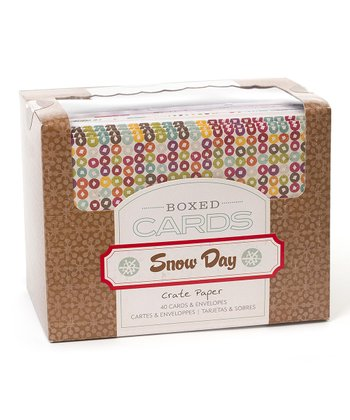 Snowy Day Card Set