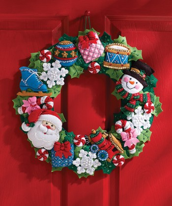 Christmas Toys Wreath Kit