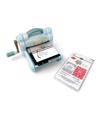 Big Shot Machine & Holiday Embossing Set