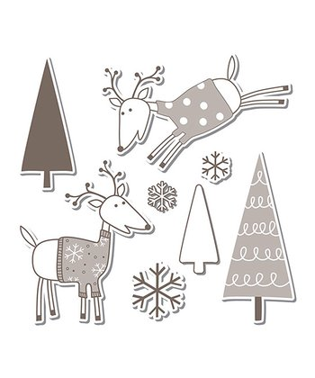 Hero Arts Reindeer Framelits Die & Stamp Set