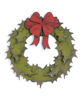 Tim Holtz Holiday Wreath Bigz Die