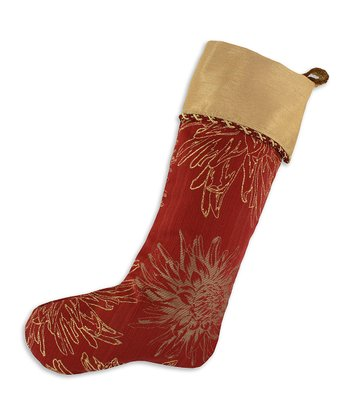 Rust & Almond Astonish Shantung Stocking