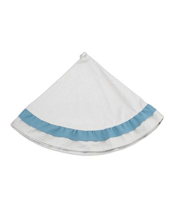 Khaki Summerhouse Linen Tree Skirt