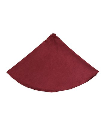 Burgundy Victory Lane Tree Skirt