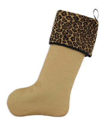 Mustard Bobcat Stocking
