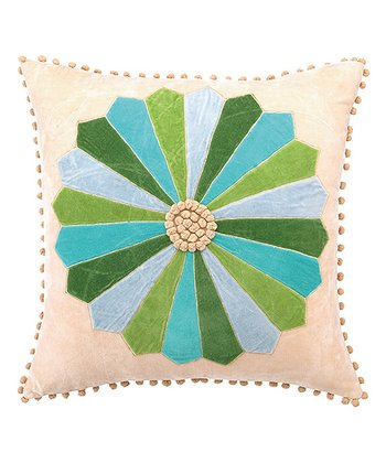Blue Spruce Festive Holiday House Throw Pillow