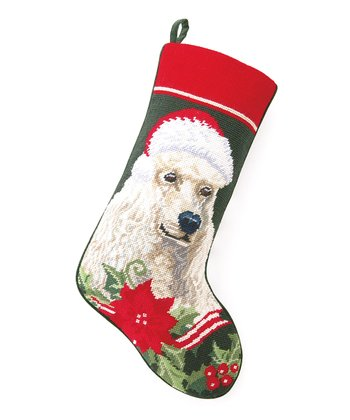 Standard Poodle Stocking