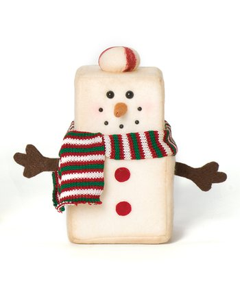Marshmallow Snowman Figurine Set