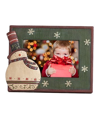 Country Snowman Photo Frame