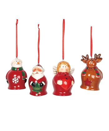 Holiday Bell Ornament Set