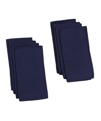 Navy Buffet Napkin - Set of Eight