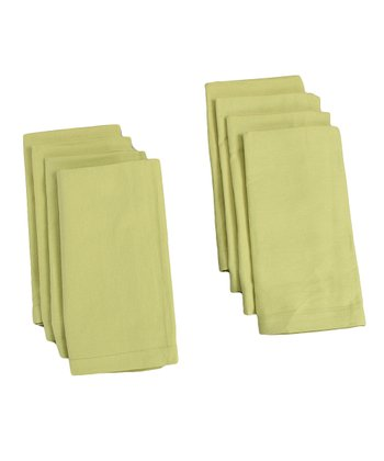 Sage Buffet Napkin - Set of Eight