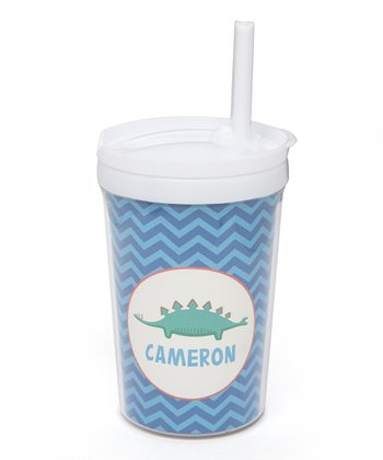Long Dino Personalized Toddler Cup