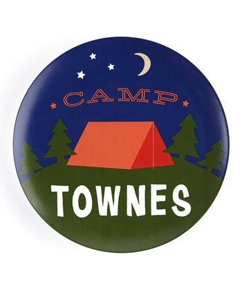 'Camp' Personalized Plate