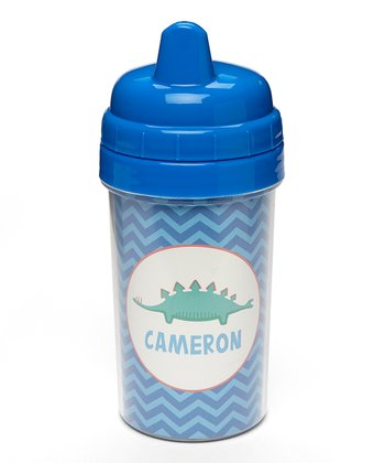 Long Dino Personalized Sippy Cup