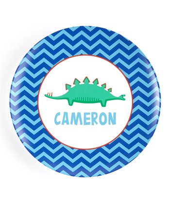 Long Dino Personalized Plate