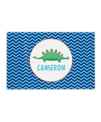 Long Dino Personalized Place Mat