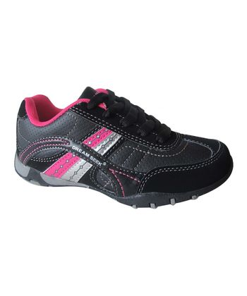 Dream Seek Black & Fuchsia Sneaker