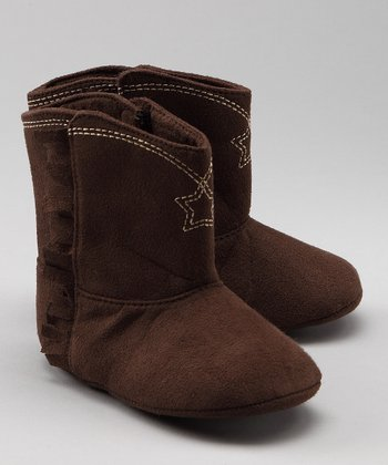 Brown Cowbaby Boots - Infant