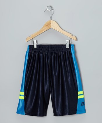 Dark Navy Baseline Shorts