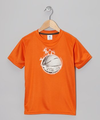 Orange 'Basketball' Tee