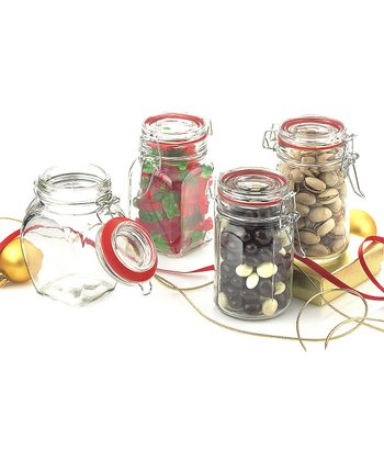 Holiday Hermetic Jar - Set of Four
