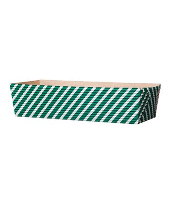 Green Stripe 7'' Loaf Pan – Set of 25
