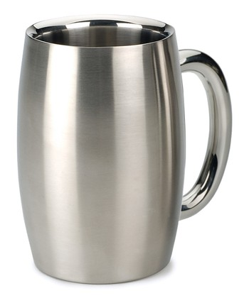 Stainless Steel Double-Wall Beer Mug