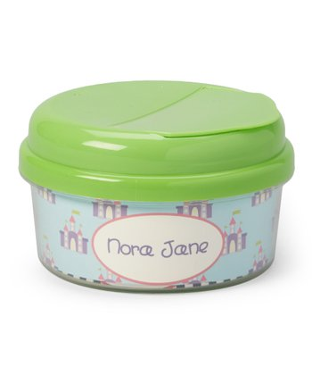 Castle Personalized Snack Container