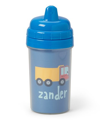 Dump Truck Personalized Sippy Cup