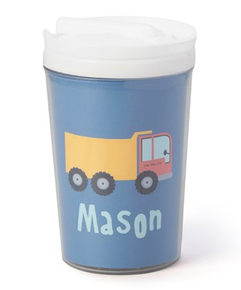 Dump Truck Personalized Toddler Cup