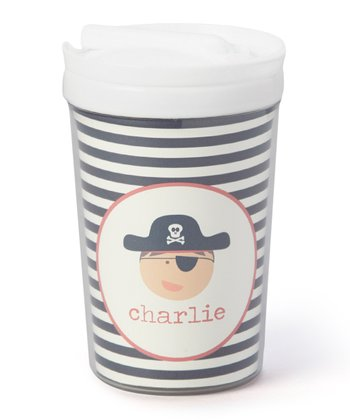 Pirate Personalized Toddler Cup